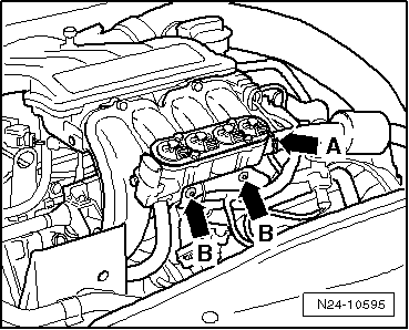 Skoda Workshop Manuals > Octavia Mk2 > Power unit > 1,6/72