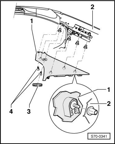 Skoda Workshop Manuals > Octavia Mk2 > Body > Body Work