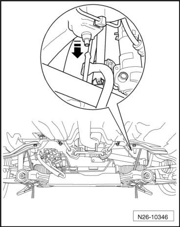 Skoda Workshop Manuals > Roomster > Power unit > 1.6/55