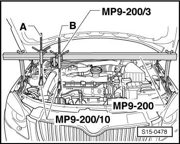 Skoda Workshop Manuals > Roomster > Power unit > 1.4/51