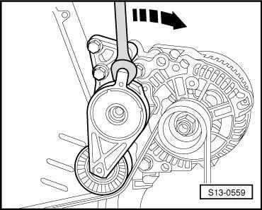 Skoda Workshop Manuals > Roomster > Engine > 1.6/77 kW MPI