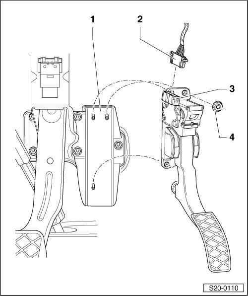 Skoda Workshop Manuals > Roomster > Drive unit > 1.9/77 kW