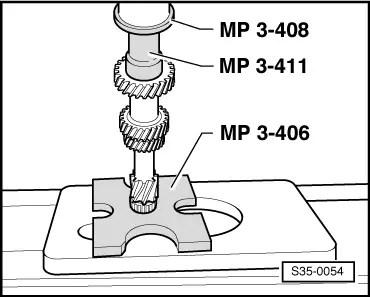 Skoda Workshop Manuals > Roomster > Power transmission