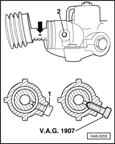 Lenkgetriebe tauschen- Tipps? : Audi A6 4B