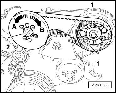 Skoda Workshop Manuals > Superb > Drive unit > 2.5 /114 kW
