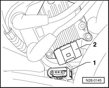 Skoda Workshop Manuals > Superb > 2.0/85 kW engine