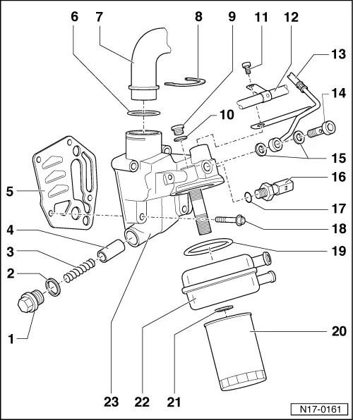 Skoda Workshop Manuals > Superb > Drive unit > 1,8/110 kW