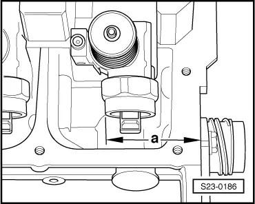 Skoda Workshop Manuals > Superb > Drive unit > 1.9/74; 1.9