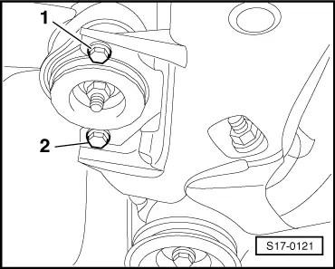 Skoda Workshop Manuals > Superb > Drive unit > 1.9/96 kW