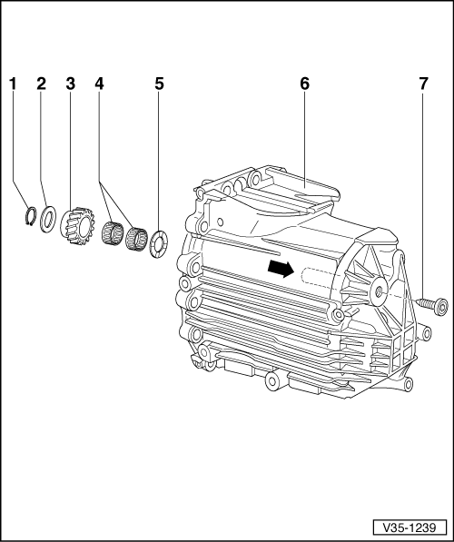 Skoda Workshop Manuals > Superb > Power transmission