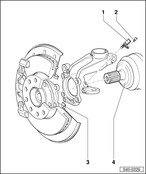 Skoda Workshop Manuals > Yeti > Brake systems > ABS, ADR