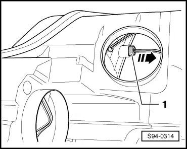 Skoda Workshop Manuals > Yeti > Vehicle electrics