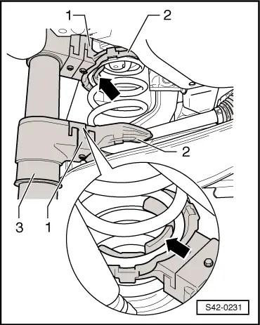 Skoda Workshop Manuals > Yeti > Axles, steering > Rear