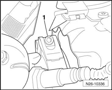 Skoda Workshop Manuals > Yeti > Power unit > 2.0/81; 103
