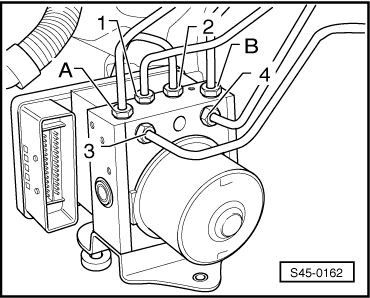 Skoda Workshop Manuals > Yeti > Brake systems > ABS, ADR