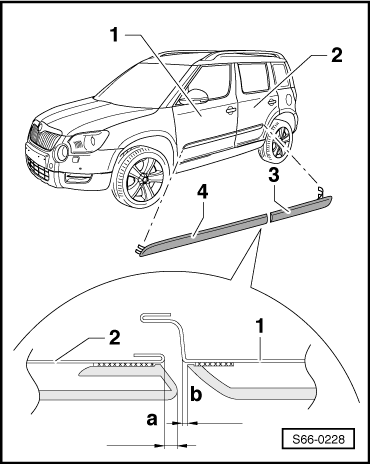 Skoda Workshop Manuals > Yeti > Body > Body Work
