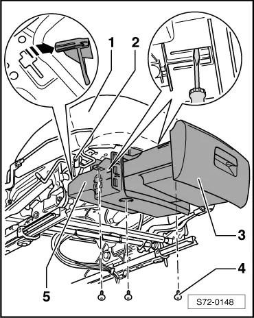 Skoda Workshop Manuals > Yeti > Body > Body Work > Seat