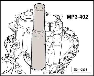 Skoda Workshop Manuals > Yeti > Power transmission