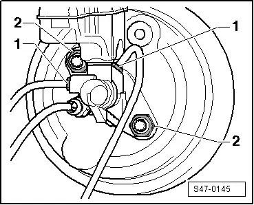 Skoda Workshop Manuals > Yeti > Brake systems > Brakes