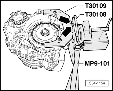 Skoda Workshop Manuals > Yeti > Power transmission