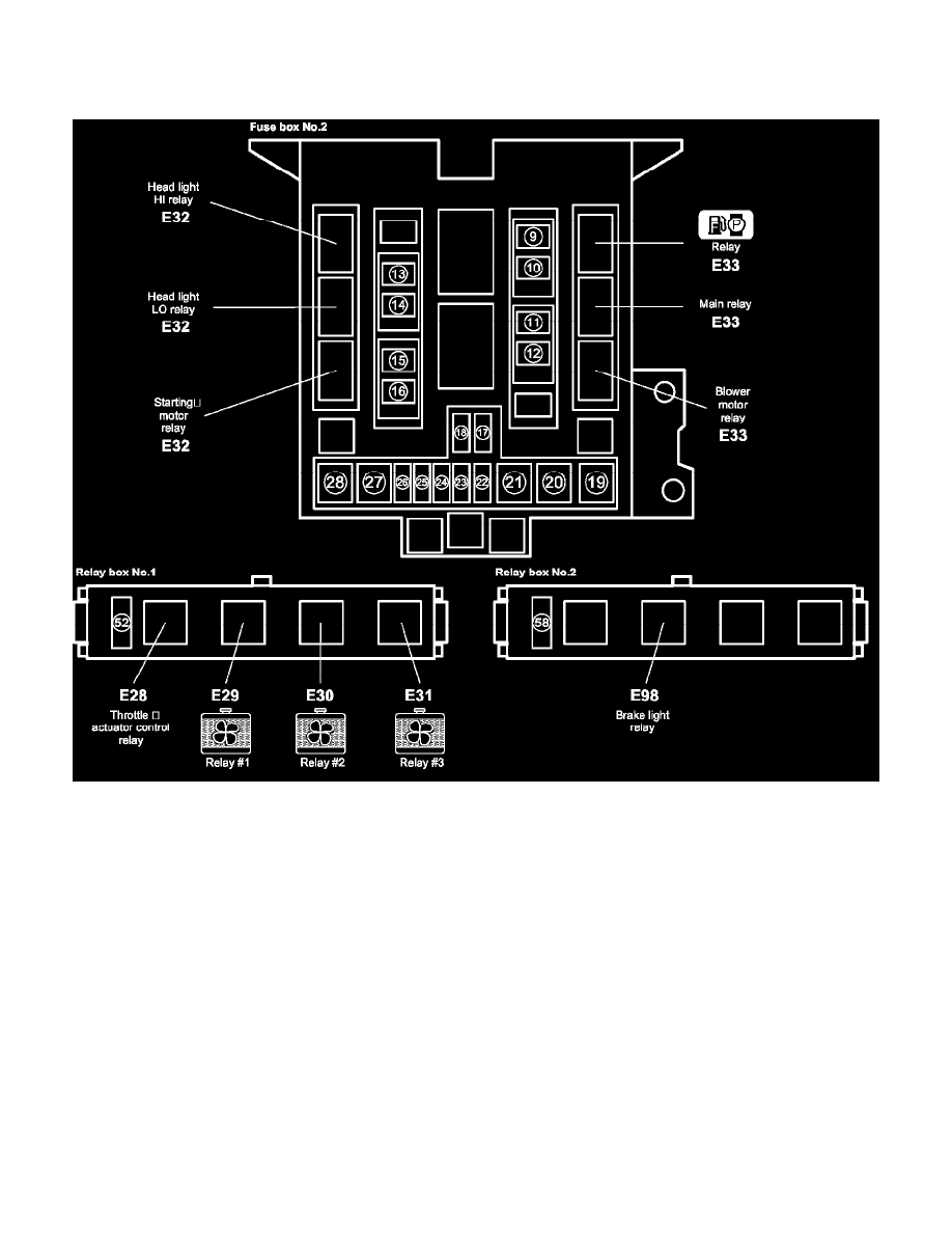 hight resolution of relays and modules fuel delivery and air induction main relay