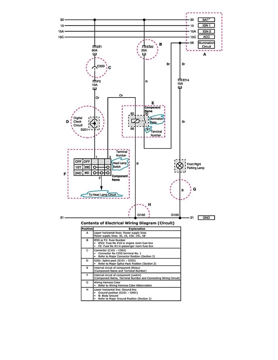 Suzuki Workshop Manuals > Reno L4-2.0L (2006) > Instrument