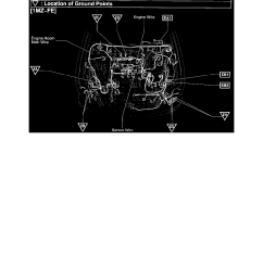 power and ground distribution auxiliary power outlet component information locations connector locations page 3703 [ 918 x 1188 Pixel ]