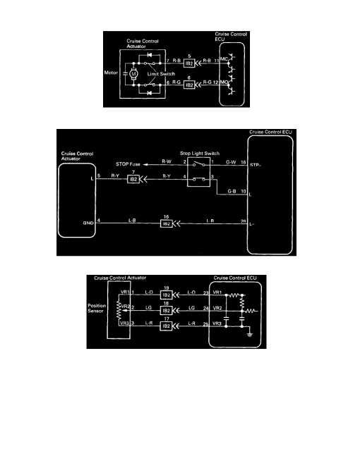 small resolution of cruise control cruise control servo component information diagrams diagram information and instructions page 6813