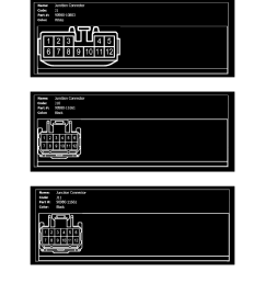 power and ground distribution multiple junction connector component information diagrams engine room main wire page 4265 [ 918 x 1188 Pixel ]
