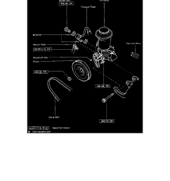 steering and suspension steering power steering power steering pump component information service and repair removal and installation [ 918 x 1188 Pixel ]