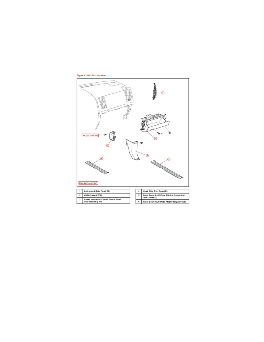 Toyota Workshop Manuals > Tundra 4WD V8-5.7L (3UR-FE