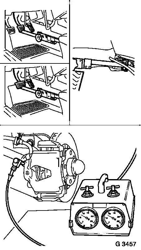 Vauxhall Workshop Manuals > Astra F > H Brakes > Brake