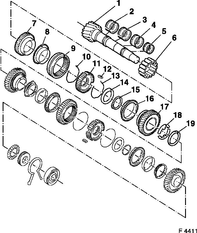 Vauxhall Workshop Manuals > Astra F > K Clutch and