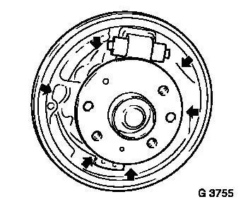 Vauxhall Workshop Manuals > Astra G > H Brakes > Rear