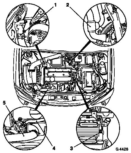 Vauxhall Workshop Manuals > Astra G > J Engine and Engine