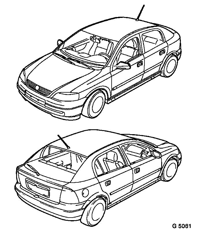 Vauxhall Workshop Manuals > Astra G > General Vehicle