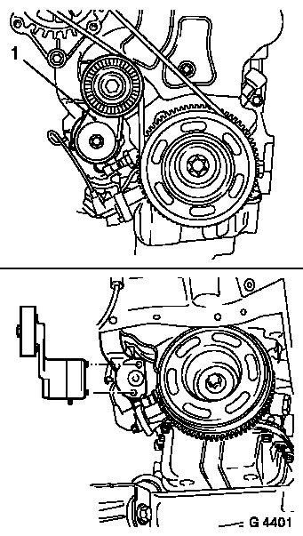 How To Replace Alternator Belt Vauxhall Astra