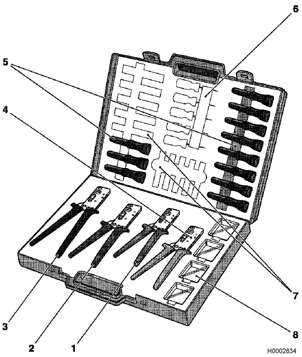 General vehicle information > schematic and routing diagrams > harness repair > step b1 prepare special service tools