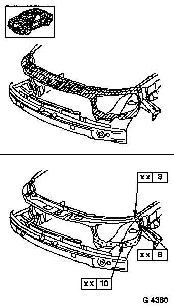 Vauxhall Workshop Manuals > Astra G > A Maintenance, Body