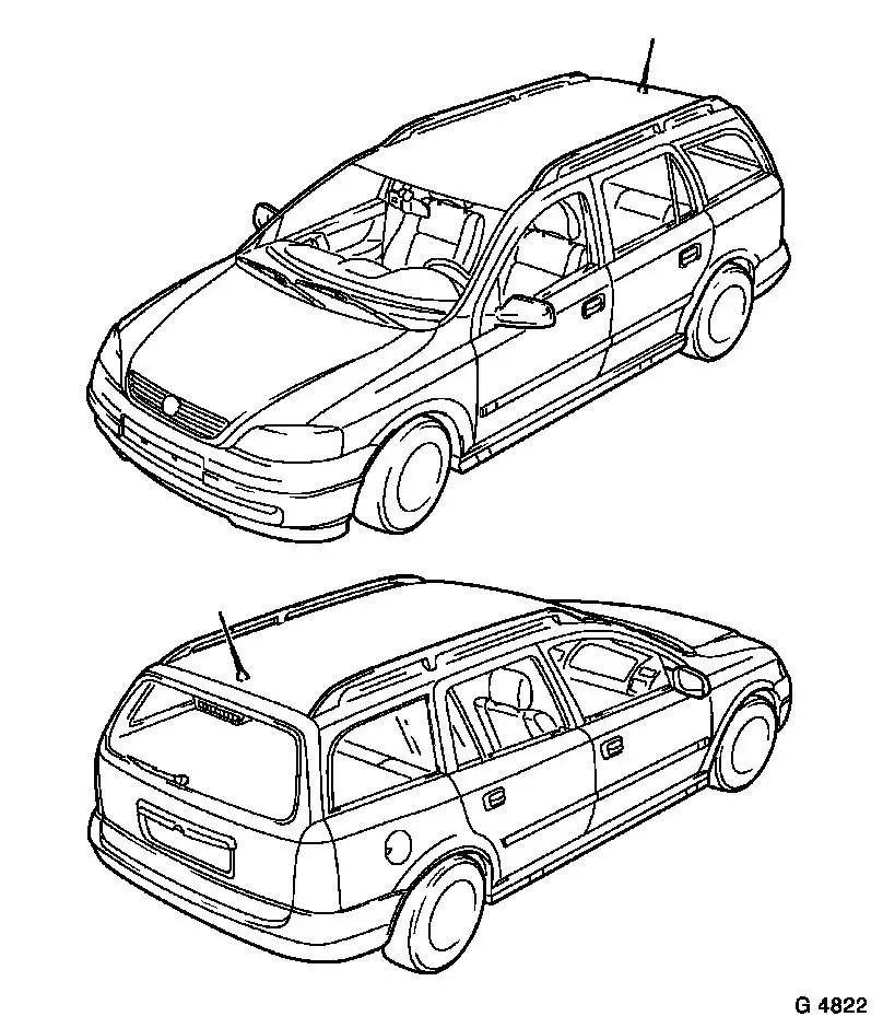 Vauxhall Workshop Manuals > Astra G > B Paint