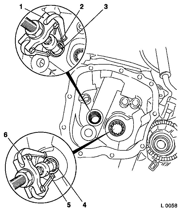 Vauxhall Workshop Manuals > Astra G > K Clutch and
