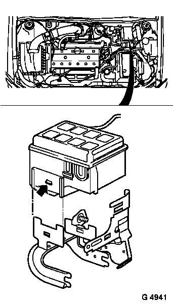 Opel Astra G Fuse Box Diagram