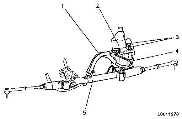 Vauxhall Workshop Manuals > Astra H > M Steering > EHPS