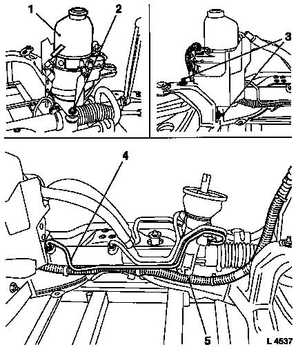 Vauxhall Workshop Manuals > Astra H > M Steering > EHPS