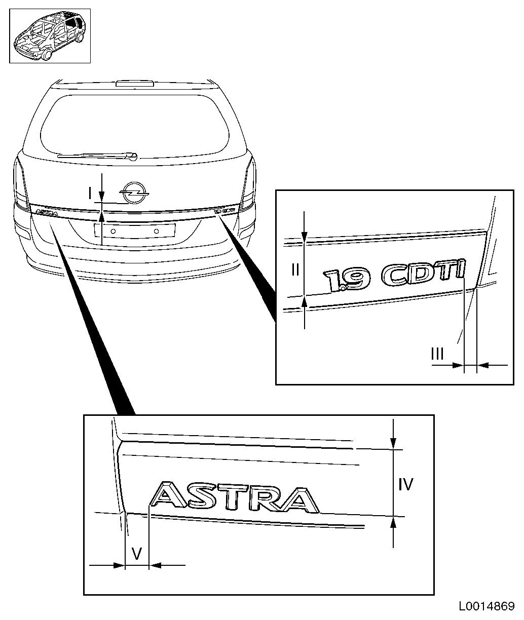 Vauxhall Workshop Manuals > Astra H > C Body Equipment