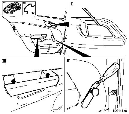 Service manual [How To Pull Off Inner Panel Rear Door 2009