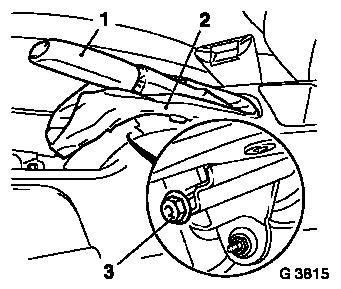 Vauxhall Workshop Manuals > Astra H > F Rear Axle and Rear