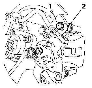 Vauxhall Workshop Manuals > Astra H > H Brakes > Rear