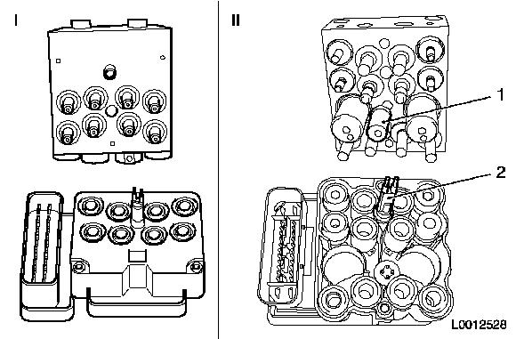 Vauxhall Workshop Manuals > Astra H > H Brakes > ABS MK70