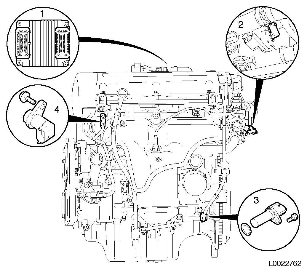 W16 Engine Diagram